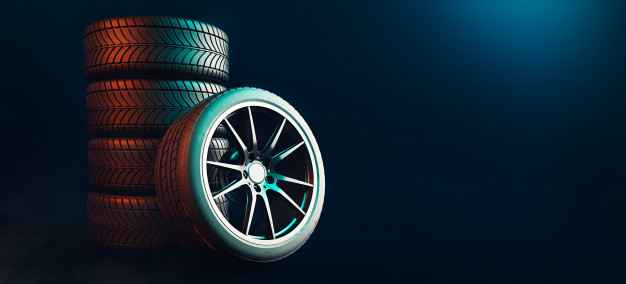 tires 5 lines black background 37416 40